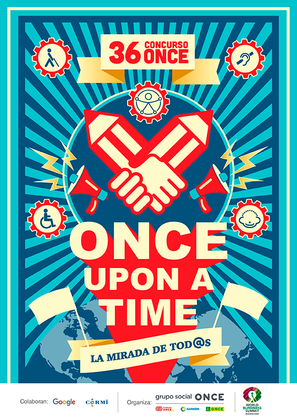 Cartel 36 Concurso Escolar ONCE UPON A TIME